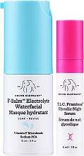 Zestaw - Drunk Elephant T.L.C. F-Balm Electrolyte Waterfacial Midi (mask 15 ml + ser 3 ml) — фото N1