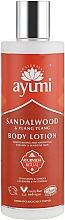 Kup Balsam do ciała Drzewo sandałowe i ylang ylang - Ayumi Sandalwood & Ylang Ylang Body Lotion