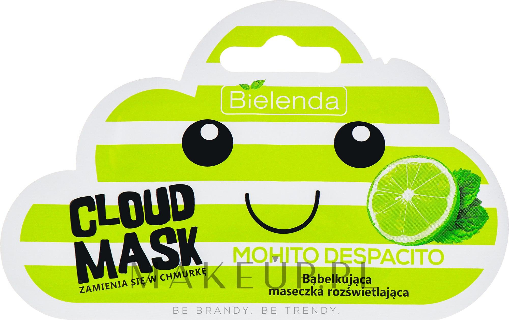 Bąbelkująca maseczka rozświetlająca Mohito Despacito - Bielenda Cloud Mask — фото 6 g