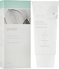 Kup Krem nawilżająco-rozjaśniający do twarzy - Petitfee & Koelf Snow Lotus White Tone Up Cream