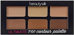 Kup Paleta do konturowania twarzy - Beauty UK Ultimate PRO Contour Palette
