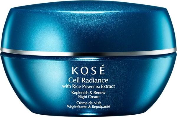 Krem do twarzy na noc - KOSE Rice Power Extract Cell Radiance Replenish & Renew Night Cream — фото N1