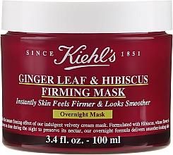Kup Nocna maska dla elastyczności i gładkości twarzy - Kiehl's Ginger Leaf & Hibiscus Firming Mask