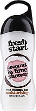 Kup Nawilżający żel pod prysznic z olejkami eterycznymi Kokos i limonka - Xpel Marketing Ltd Fresh Start Coconut & Lime Shower Gel
