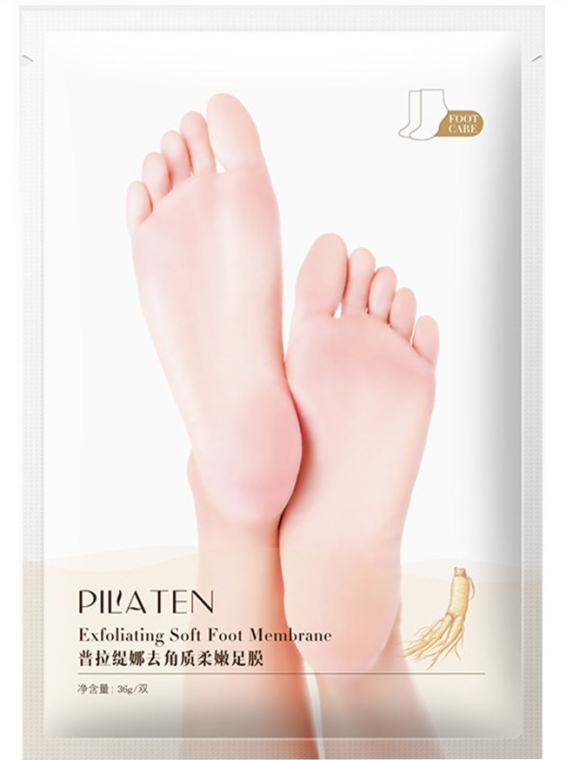 Złuszczająca maska do stóp - Pilaten Exfoliating Soft Foot