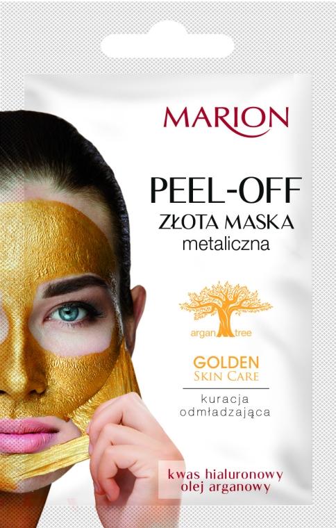Złota maseczka odmładzająca do twarzy - Marion Golden Skin Care