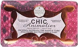 Kup Naturalne mydło w kostce Dzika orchidea, czerwona herbata i gardenia - Nesti Dante Chic Animalier