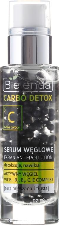 Serum węglowe do cery mieszanej i tłustej - Bielenda Carbo Detox