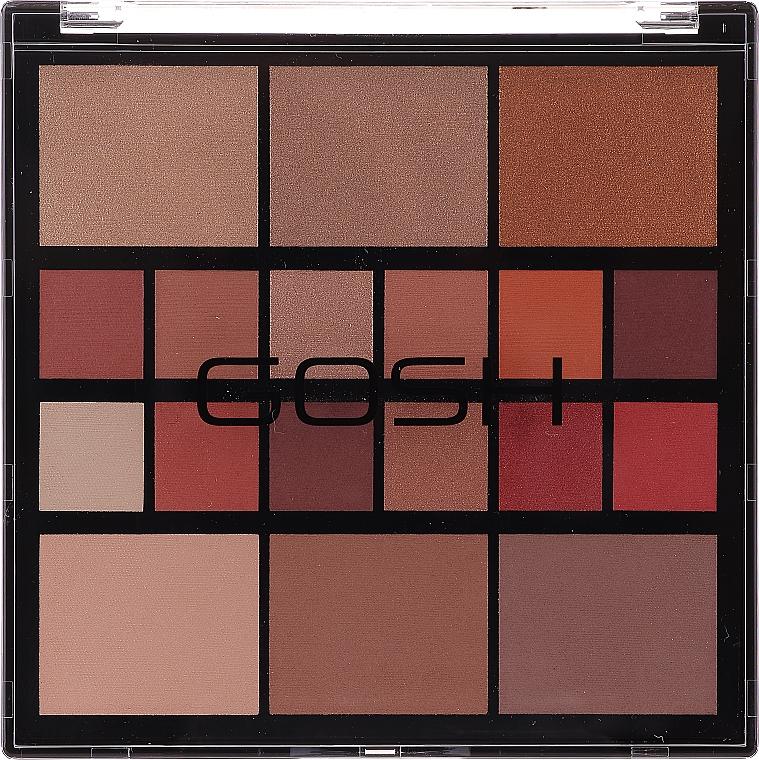 Paleta do makijażu twarzy - Gosh Grab&Go — фото N1