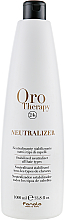 Kup PRZECENA! Neutralizator do włosów - Fanola Oro Therapy Neutralizer *