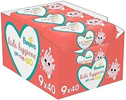 Kup Chusteczki nawilżane dla niemowląt, 9 x 40 szt. - Pampers Kids On The Go