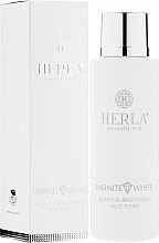 Kup Odżywczy tonik do twarzy rozjaśniający przebarwienia - Herla Infinite White Nutritive Brightening Face Toner