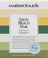 Kup Rozjaśniający puder do włosów - Waterclouds Snow Bleach Blue