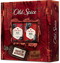 Kup Zestaw - Old Spice Rock Adventurer (deo/50g + sh/gel/250ml)