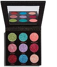 Kup Paleta brokatowych pigmentów do powiek - Makeup Revolution Pressed Glitter Palette Abracadabra