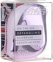 Kup Kompaktowa szczotka do włosów - Tangle Teezer Compact Styler Lilac Gleam