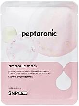 Kup Peptydowa maseczka nawilżająca w płachcie do twarzy - SNP Prep Peptaronic Ampoule Mask