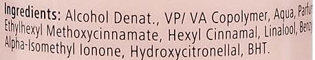 Żel w sprayu do włosów z ochroną UV - Hegron Styling Spray Protect Color — фото N3