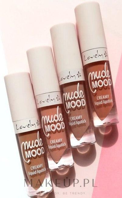 Lovely, Nude Mood, Creamy Liquid Lipstick (Płynna kremowa