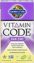 Kup Suplement diety Cynk z witaminą C - Garden of Life Vitamin Code Raw Zinc