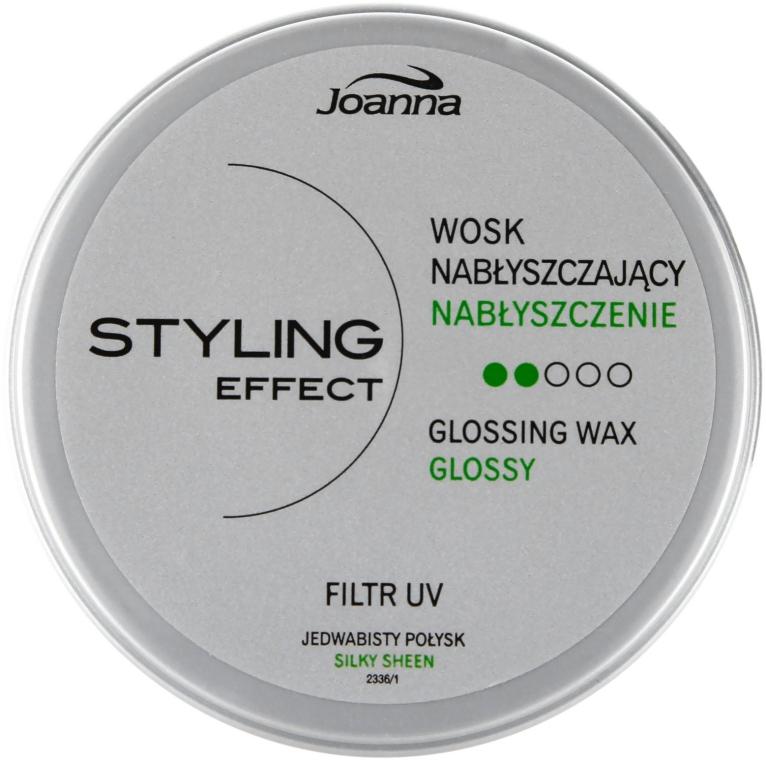 Nabłyszczający wosk do włosów - Joanna Styling Effect