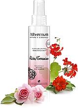 Kup Perfumowana mgiełka do ciała Róża i geranium - Allvernum Nature's Essences