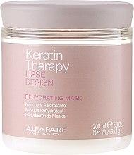 Kup Nawilżająca maska do włosów - Alfaparf Lisse Design Keratin Therapy Rehydrating Mask