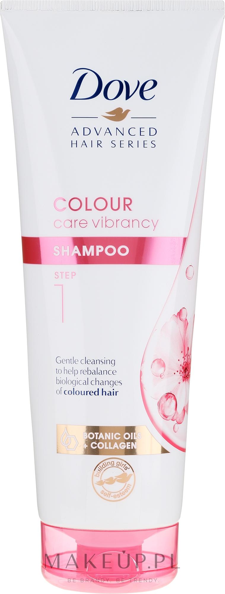 Nabłyszczający szampon do włosów farbowanych - Dove Advanced Hair Series  — фото 250 ml