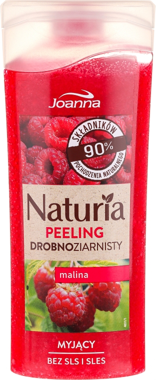 Myjący peeling drobnoziarnisty Malina - Joanna Naturia Peeling