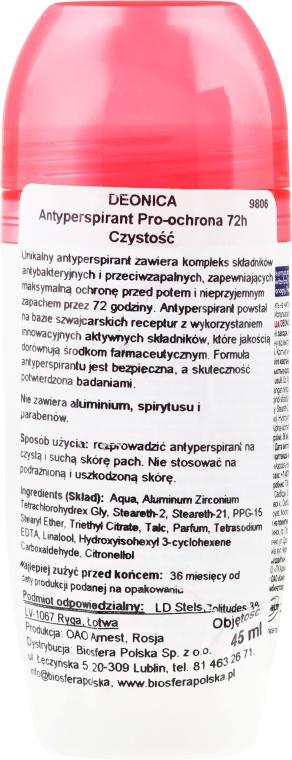 Antyperspirant w kulce - Deonica  — фото N2