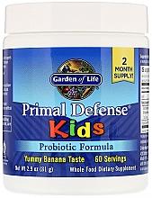 Kup Formuła probiotyczna dla dzieci o smaku bananowym - Garden of Life Primal Defense Kids Probiotic Formula