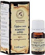 Kup 100% naturalny olejek z drzewa różanego - Aromatika