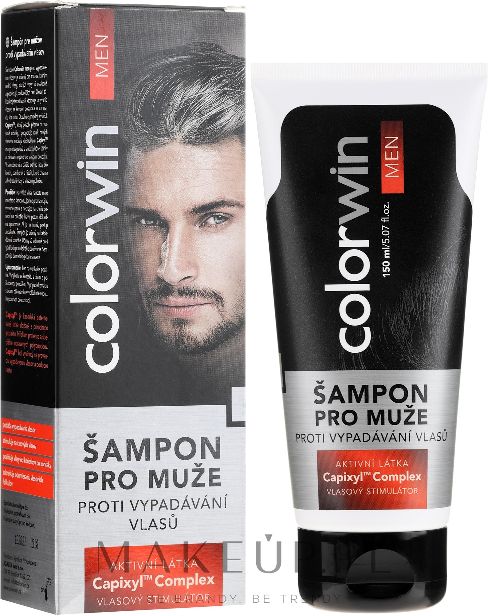 Szampon przeciw wypadaniu włosów dla mężczyzn - Colorwin Hair Loss Shampoo — фото 150 ml