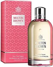 Kup Molton Brown Fiery Pink Pepper Pampering Bathing Oil - Perfumowany olejek do kąpieli