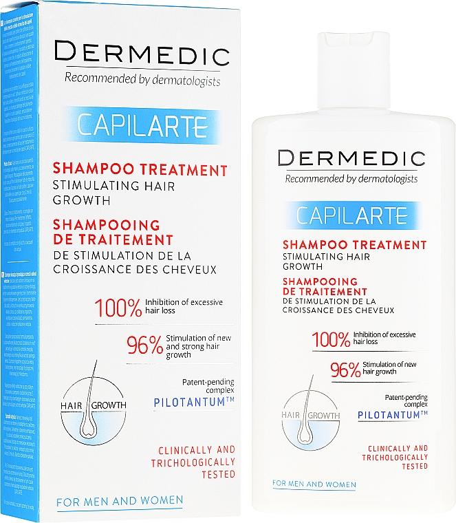 Szampon-kuracja stymulująca wzrost włosów - Dermedic Capilarte Shampoo