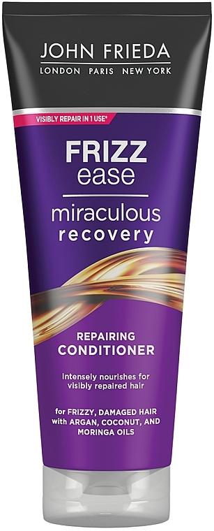 Odżywka do włosów suchych i puszących się - John Frieda Frizz-Ease Miraculous Recovery