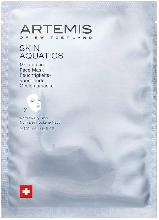 Nawilżająca maska do twarzy - Artemis of Switzerland Skin Aquatics Moisturising Face Mask — фото N1