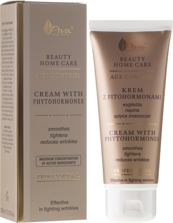 Krem do twarzy z fitohormonami - AVA Laboratorium Professional Beauty Home Care Age Control