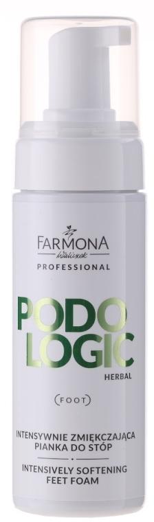 Intensywnie zmiękczająca pianka do stóp - Farmona Professional Podologic Herbal