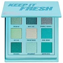Kup Paleta cieni do powiek - Makeup Obsession Keep It Fresh Shadow Palette