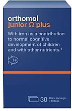 Kup PRZECENA! Witaminy dla dzieci w żelkach o smaku toffi - Orthomol Junior Omega Plus *
