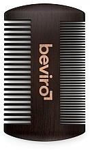 Kup Drewniany grzebień do zarostu - Beviro Pear Wood Beard Comb