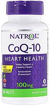 Kup Suplement diety w tabletkach wspomagający pracę serca - Natrol CoQ-10 Heart Healh