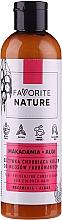 Kup Odżywka do włosów farbowanych z olejem makadamia - Favorite Nature Macadamia & Algae