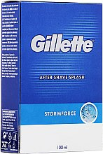 Kup Woda po goleniu - Gillette Blue Storm Force After Shave Splash
