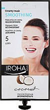 Kup Kokosowa maska wygładzająca do twarzy - Iroha Nature Smoothing Creamy Mask Coconut