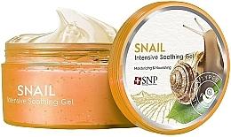 Kup Kojący żel ze śluzem ślimaka do twarzy i ciała Nawilżenie i odżywienie - SNP Intensive Snail Soothing Gel
