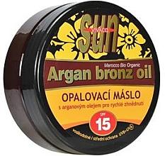 Kup Olejek do opalania SPF 15 - Vivaco Sun Argan Bronz Oil SPF 15