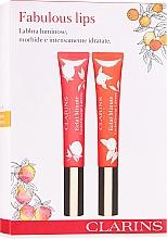Kup Zestaw błyszczyków do ust - Clarins Fabulous Lips Set (lip/gloss/2x12 ml)