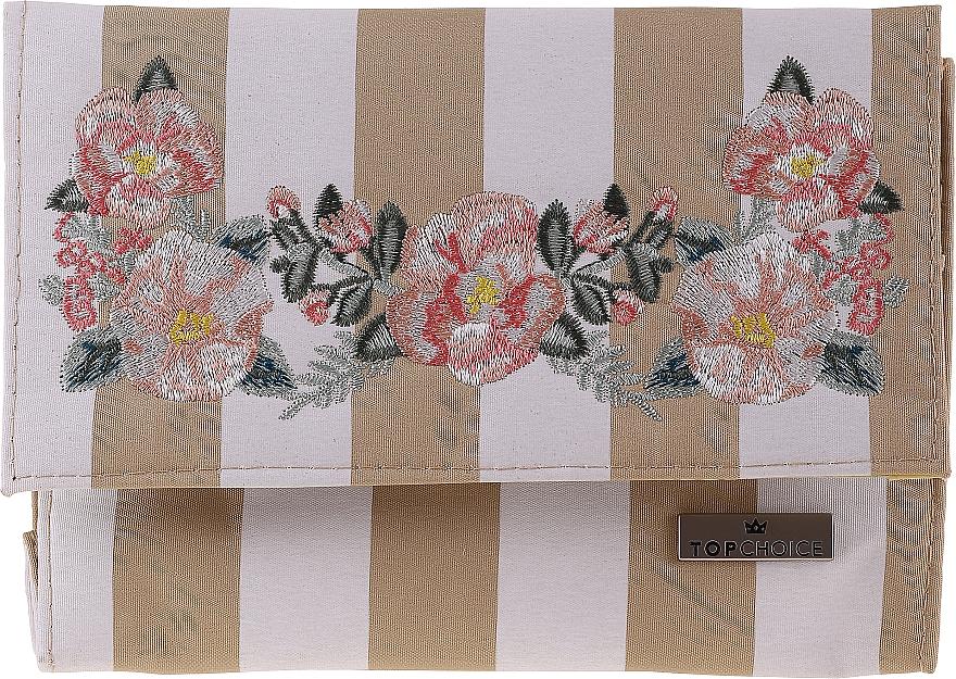 Kosmetyczka z lusterkiem Chaplet, 96501, beżowa - Top Choice